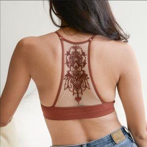 c933bca6e22b3e Other - Bralette bra sheer mesh tattoo back